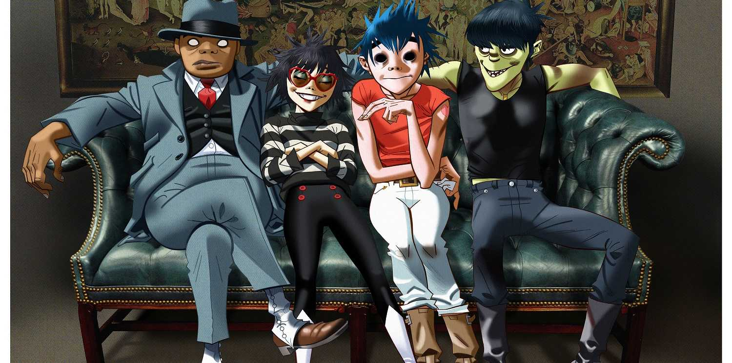 Artwork for the band Gorillaz.