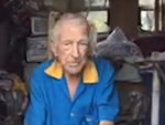 Keith Hills, 91, survives Cyclone Debbie in his caravan