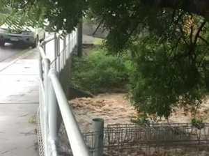 Flash flooding north Rocky