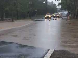 Flash flooding north Rockhampton