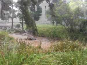 Toowoomba experiences wet weather