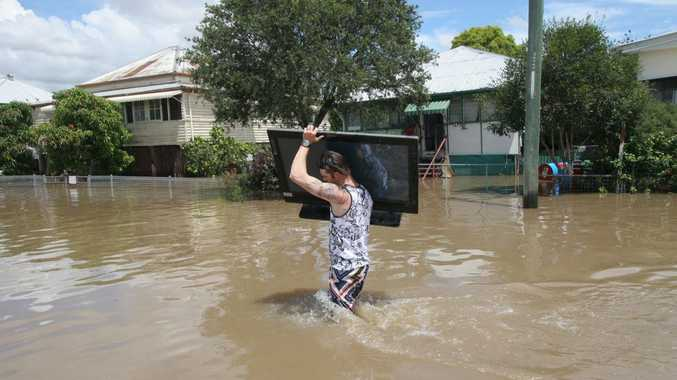 86 rockhampton streets to go under water in major flood chronicle