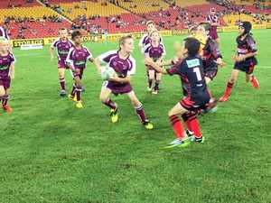 Eastern Suburbs score two tries in game at Suncorp