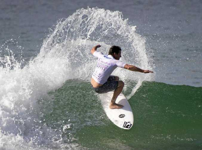 SURF'S UP: Shaun Cansdell is in the Coffs Harbour Boardriders team for the Surftag Australian Series.