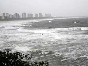 Beaches in lockdown as extreme weather batters Coast