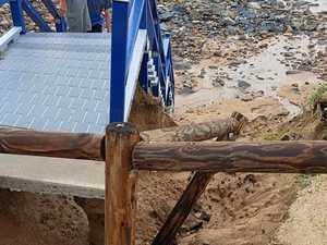 Erosion at Lambert's Beach