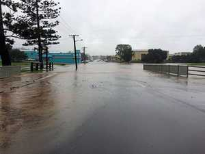 Flash flooding warning remains but rain eases