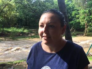 Frenchville resident's home near flooded creek