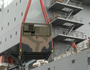 Navy loads relief supplies