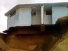 Erosion puts rest rooms in danger.