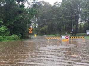 Tullebudgera Creek breaks its banks: Gold Coast evacuations