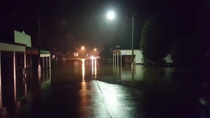 Killarney's main street goes underwater this evening.