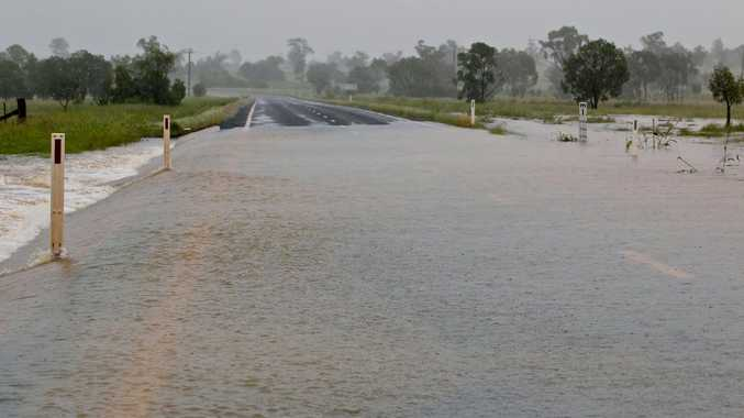 The Warrego Hwy between Mitchell and Roma. Photo Roma Tourism Association / Facebook