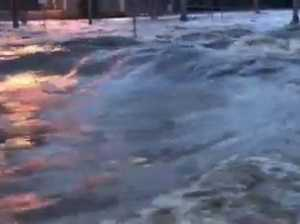Lismore flooding after levee broken