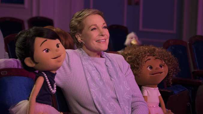 Dame Julie Andrews in a scene from the TV series Julie's Greenroom.