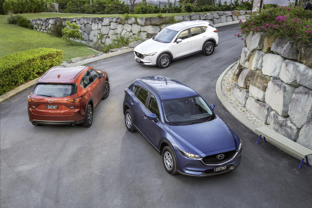 2017 Mazda CX-5 range