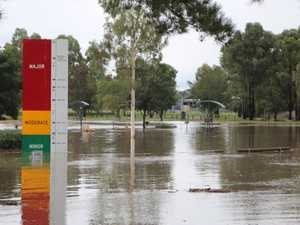 WATCH: Condamine bursts its banks