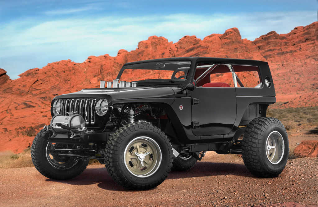 ROD SPECIAL: The Quicksand is a proper long-wheelbase hot rod with a Mopar 392 Crate Hemi engine, chopped roof and trimmed front and rear body, all ideal for sand dune hopping.