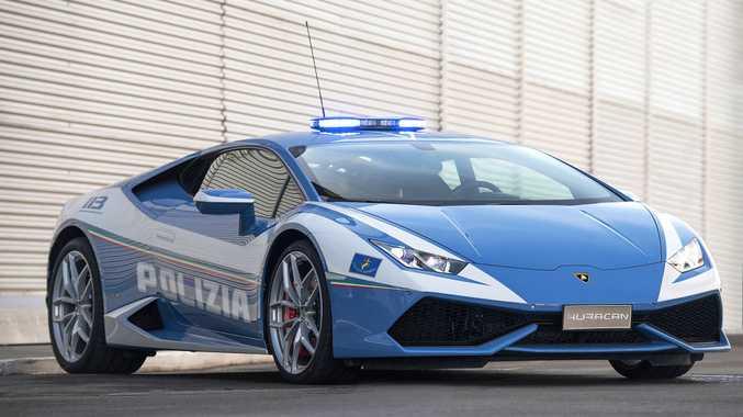 2017 Lamborghini Hurac n Polizia