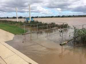 Clarence River rising, minor flood level expected