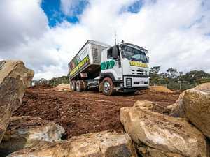 Rigs rebuilding the landscape