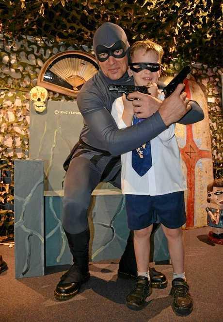 Angus Fraser meets The Phantom.