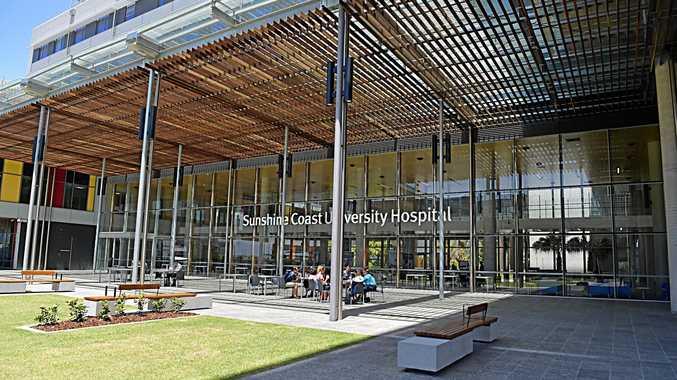 Views of the Sunshine Coast University Hospital.