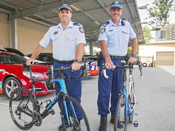 MEMORIAL: Sgt Mark Andrews and Sgt Jarrod Langan will take part in a remembrance bike ride in the US.