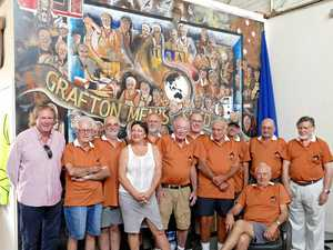 Grafton Men's Shed: legends in their own lunch room