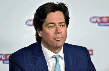 AFL Chief Executive Gill McLachlan