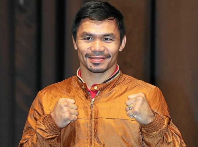 Filipino boxer Manny Pacquiao will fight Jeff Horn on July 2.