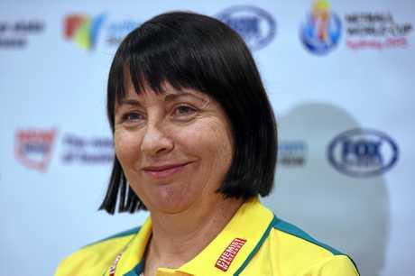 The coach of the Australian netball team, Lisa Alexander.
