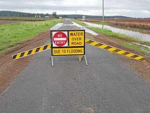FLOODED ROADS: Roads beginning to close across Rocky region