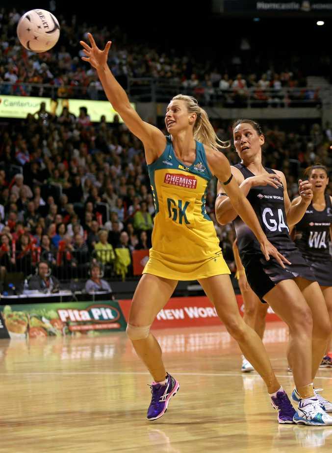 Australia's Laura Geitz in action in 2015.