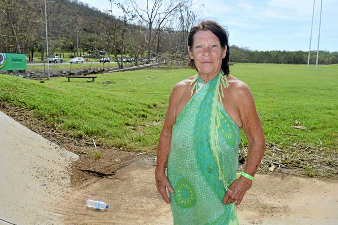 Ruth Muller fears she might have lost her home in Cyclone Debbie and doesn't know what she's going to do.