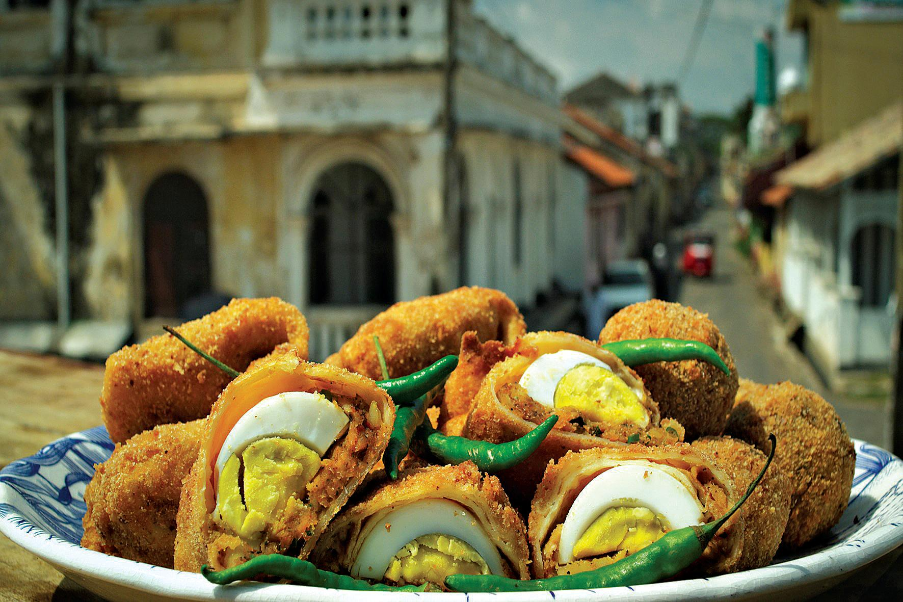 Put these Sri Lankan egg rolls on the menu for something a little different in an Easter spread.