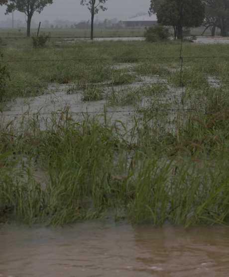 Flooding near Roma. Photo Roma Tourism Association / Facebook