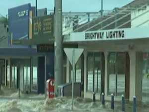 Lismore CBD floods