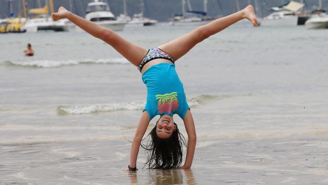 Cartwheels like this have been banned at WA's Bunbury School.