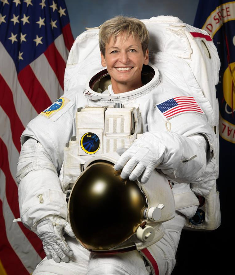 Astronaut Dr Peggy Whitson.