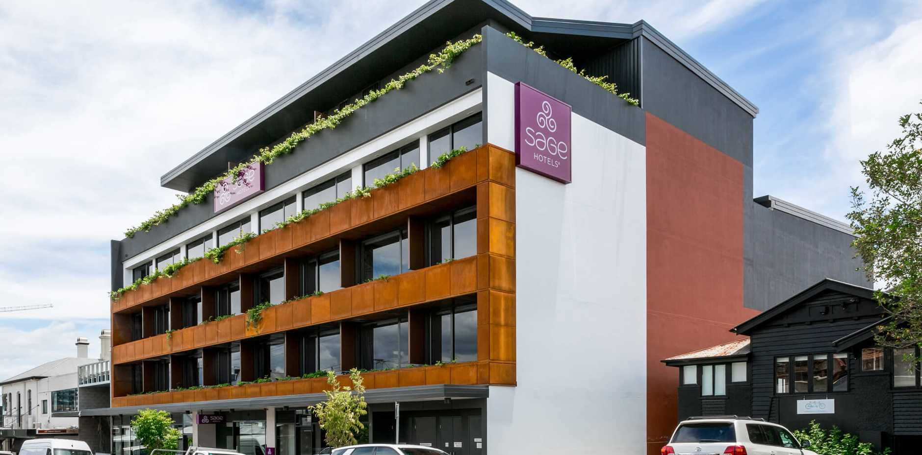 SAGE Hotel in Fortitude Valley.
