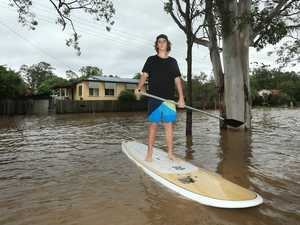 Chinderah on standby for 'major' flood when flood hits tide