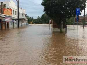 Community spirit as Lismore floods