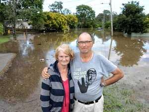 Keogh Street residents flooded