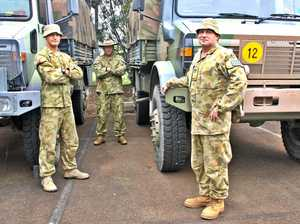 Army steps up to assist SES in flood rescues
