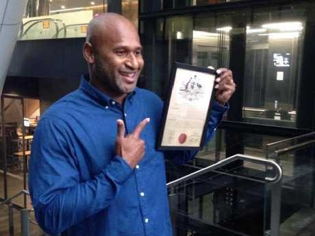 Lote Tuqiri became a Lottoland ambassador and changed his name to Lote Land as part of an April Fool's Day joke.