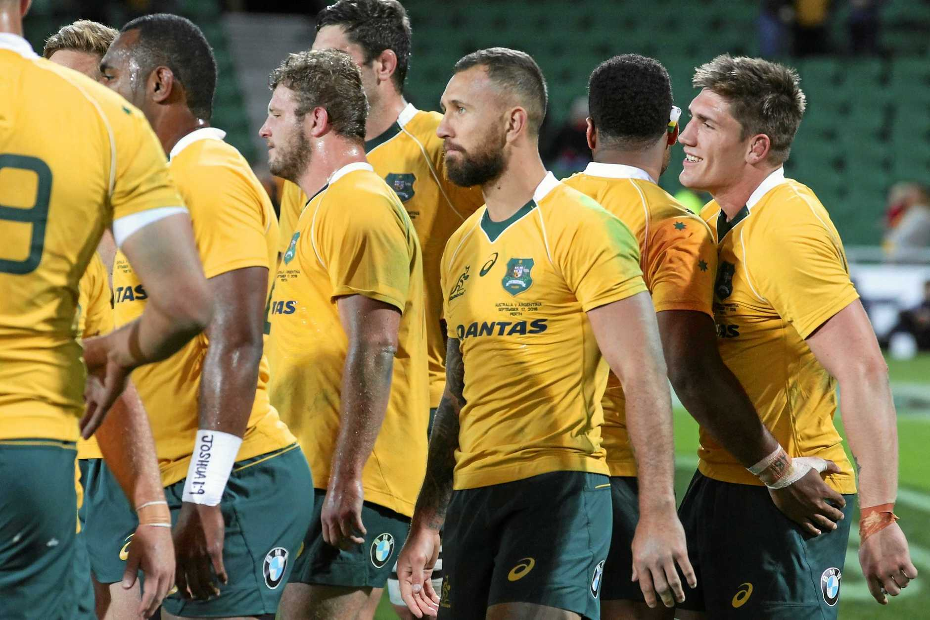 The Wallabies had a poor year in internationals in 2016.