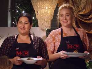 Della and Tully find instant restaurant redemption on MKR