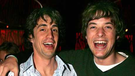 Hamish Blake and Andy Lee back in the early days.