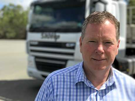 General manager of DAF Trucks Australia Robert Griffin.